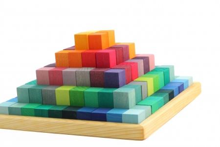 Jeu de construction en bois pyramide de grimm 39 s - Jeux video de construction ...